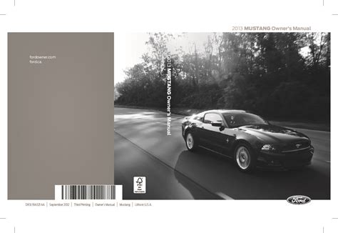 ford mustang gt owners manual phiz