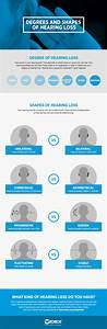 Degrees And Shapes Of Hearing Loss Infographic