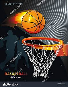 Basketball Advertising Poster Abstract Sport Background ...