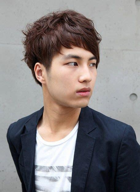 korean men curly hair style jess haircut pinterest