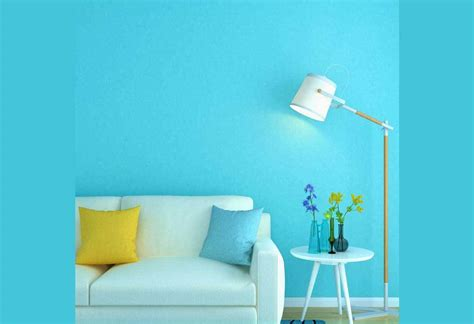 textured plain blue wallpaper boys girls room wallpaper