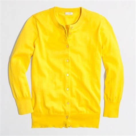 yellow cardigan sweater 18 j crew sweaters j crew bright tropical yellow