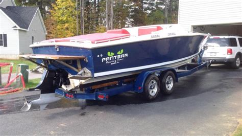 Stern Boat Type by Stern Powr Drive Location On A 24 Pantera Type Hull