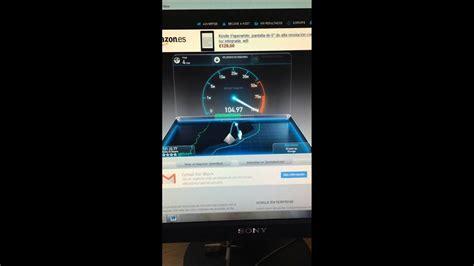 Test De Velocidad Movistar Fibra Optica
