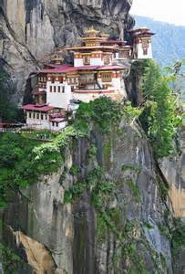 Tiger's Nest Monastery Bhutan Location