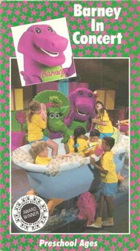 Barney And The Backyard Vhs by Barney In Concert