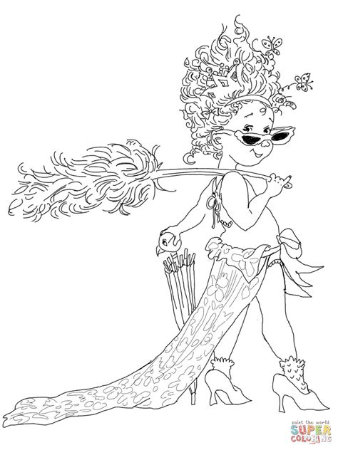 fancy nancy coloring pages fancy nancy with umbrella coloring page free printable
