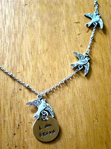 Divergent Inspired Necklace. Tris Three Flying Birds ...