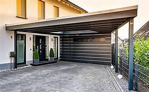 Garage Mit Carport : konisch laufendes carport hpl mit abstellraum garagen in 2019 pinterest ~ Orissabook.com Haus und Dekorationen