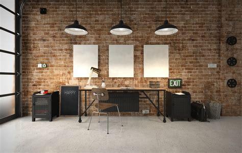 le de bureau style industriel 25 idées déco d un bureau maison nos astuces pour le