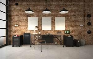 Bureau Style Industriel : decoration bureau style industriel ~ Teatrodelosmanantiales.com Idées de Décoration