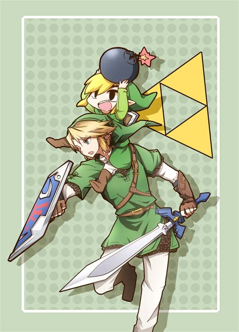 The Legend Of Zelda Twilight Princess Wind Waker Link