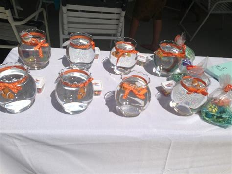 finding nemo party fish bowls  nemo favors party