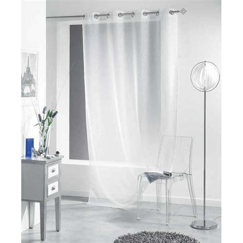 rideau voilage liss 233 a 140x240 cm blanc