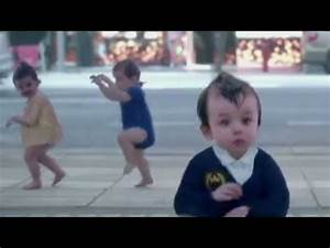 Evian brings back dancing babies for ad - YouTube