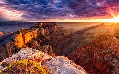Canyon Grand 4k Landmarks National Sunset Park
