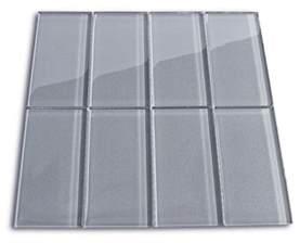 mini subway tile kitchen backsplash grey glass tile backsplash subway tile outlet