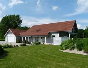 Maison bois de plain pied nos maisons ossatures bois for Idee maison plain pied 0 maison plain pied ecologique
