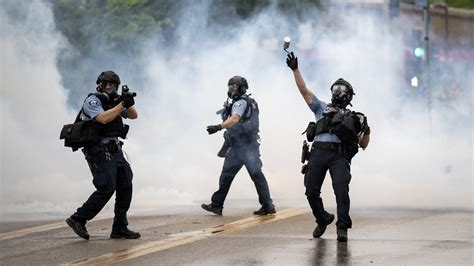 force criticized  protests  police brutality