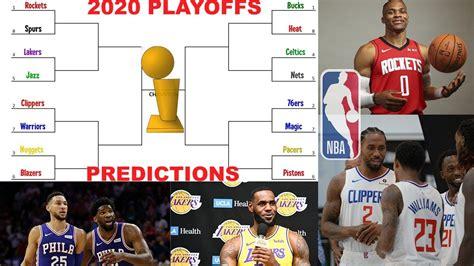 2020 NBA PLAYOFF PREDICTIONS!!! MY NBA FINALS CHAMPION ...