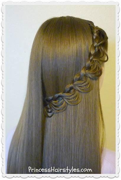 Tutorial Braid Hairstyle Melting Hair Hairstyles Princess