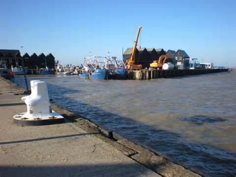 Boat Fishing Windy Harbour by Fishing Boats In Whitstable Harbour 169 Martyn Ayre Cc By Sa