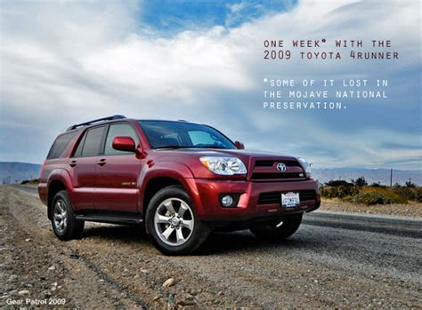 2009 Toyota 4runner Review by One Week With The 2009 Toyota 4runner A Review And A Few