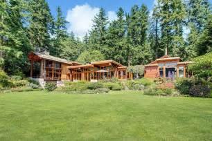 Fresh Beautiful Wood Houses by Beautiful House Of Wood And Steel On Bainbridge