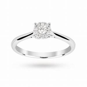 View Full Gallery Of Luxury 9 Carat White Gold Wedding
