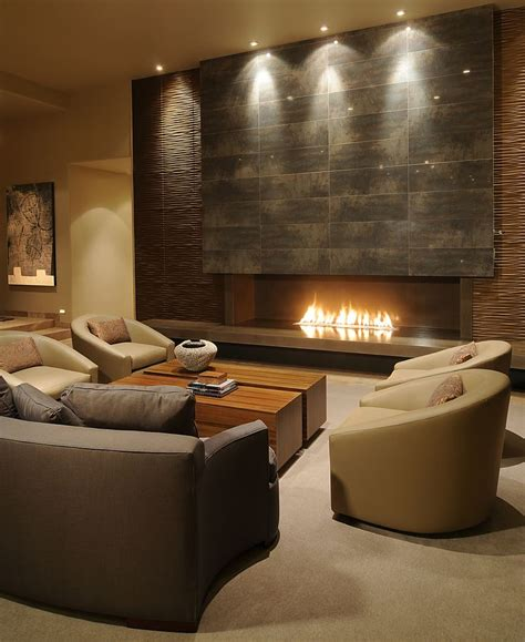 High End Home Design Ideas by 526 Best Linear Fireplaces Linear Contemporary Images On