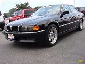 1998 Black Ii Bmw 7 Series 740i Sedan  52598236