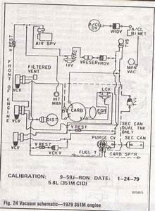 1978 Ford Bronco 351m Vacuum Diagram  Ford  Auto Wiring Diagram
