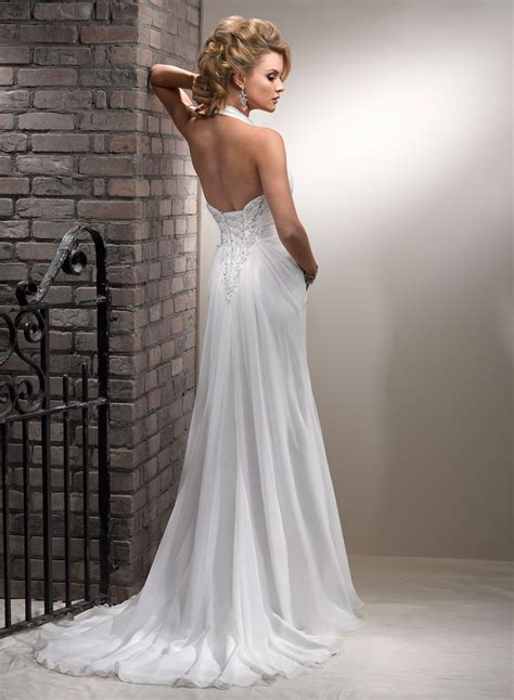 Trendy Halter Neck Backless Wedding Costume For Western. Wedding Dresses Lace Perth. Country Lace Wedding Dress Uk. Elegant Wedding Guest Dresses Australia. Cheap Wedding Dresses Wichita Ks