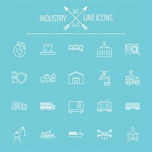 Industry outlines icons vector 02 - Life Icons free download