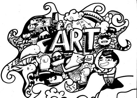 nadia mengenal doodle art