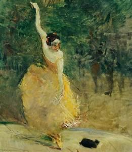 The Spanish Dancer Painting by Henri de Toulouse-Lautrec