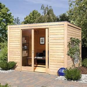 Chalet Bois Toit Plat : abri de jardin toit plat 12m2 chalet de jardin resine djunails ~ Melissatoandfro.com Idées de Décoration