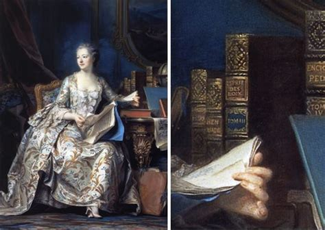 maurice quentin delatour la marquise de pompadour for the increase and diffusion of knowledge from 18th century to the libraries
