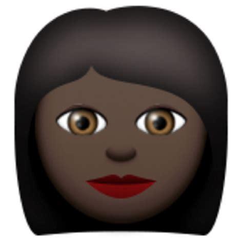 black emoji android black emoji u 1f469 u 1f3ff
