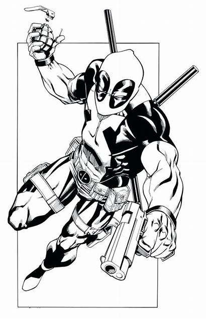 Deadpool Coloring Pages Lego Printable Colouring Sheets