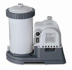 Intex 2500 Gph Krystal Clear Gfci Pool Filter Pump With