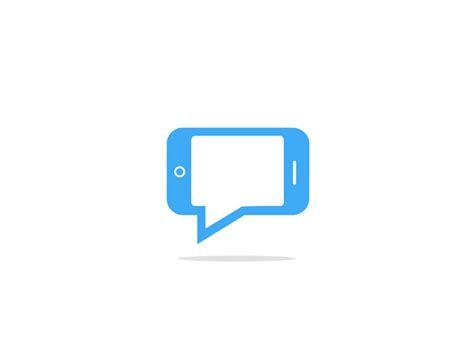 app logo design mobile app chat logo by price dribbble