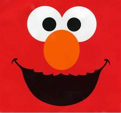 Elmo Birthday Clip Clipart Party Face Sesame