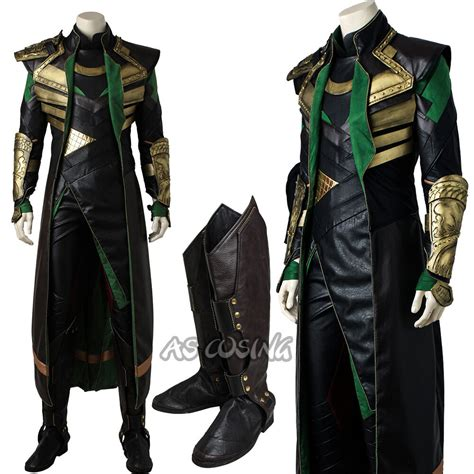 Thor The Dark World Loki Cosplay Costume The Avengers