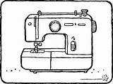 Sewing Machine Colouring Kiddicolour Template Email Recipient sketch template