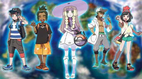 new characters information lillie hau professor kukui pokemon sun and moon theory
