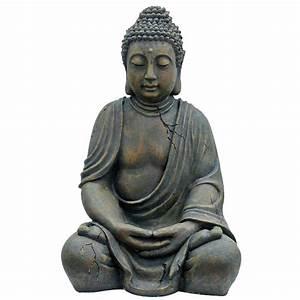 Statue Bouddha Exterieur : statue bouddha rona ~ Teatrodelosmanantiales.com Idées de Décoration