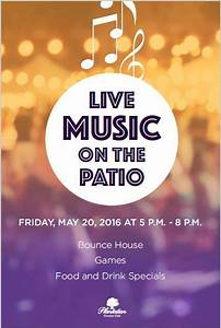 Live Music Concert Event Flyer Poster Template