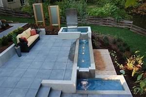 Contemporary Water Garden Design Ideas - Landscaping
