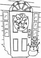 Door Coloring Pages Door4 Print Coloringway sketch template